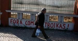 Lisboa na véspera da chegada da missão (Foto: Reuters)