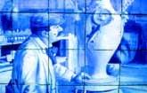 Os azulejos são um dos traços mais distintivos das Caldas