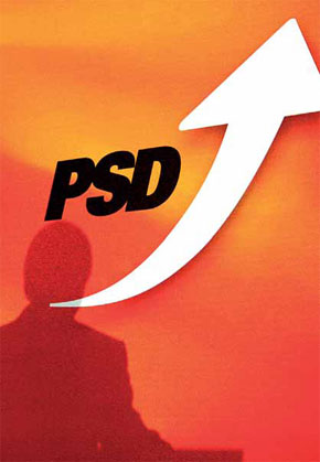 O novo símbolo do PSD pago pela Somague