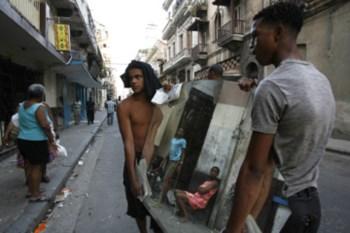 Os cubanos inventam qualquer coisa para sobreviver