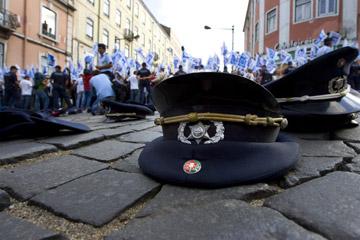 Ontem dois sindicatos da PSP manifestaram-se em Lisboa