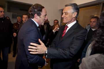 Paulo Portas participou ontem no comício de Cavaco Silva em Aveiro