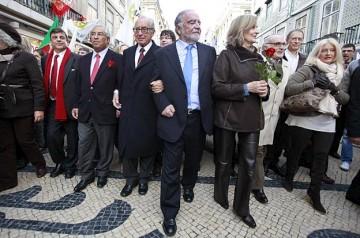 Alegre termina o dia em Lisboa com um comício no Coliseu