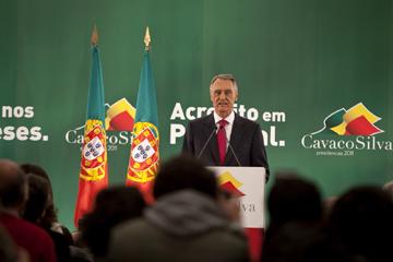 Cavaco teve votação expressiva no Norte