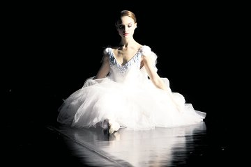 Natalie Portman, no filme O Cisne Negro