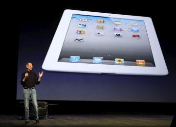 O iPad vai chegar às lojas também em branco