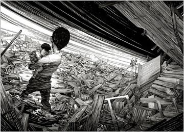 Projecto de ilustração quer ajudar vítimas do tsunami