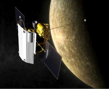 O engenho espacial começou a sua viagem há quase sete anos