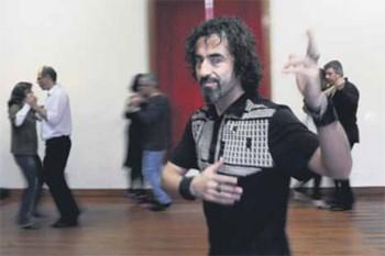 Durante três dias, Pablo Veron deu aulas de tango no Porto