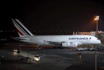 Os dois aviões depois do acidente