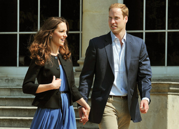 William e Kate ficaram no Reino Unido no primeiro fim-de-semana após o casamento