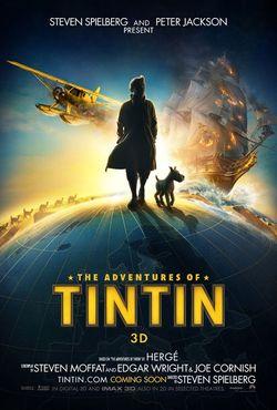 Tintin de Steven Spielberg já tem cartazes oficiais e trailer