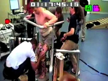 Uma das imagens do vídeo avançadas pela The Lancet