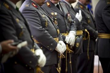 Topo da hierarquia da GNR está entregue a generais do Exército
