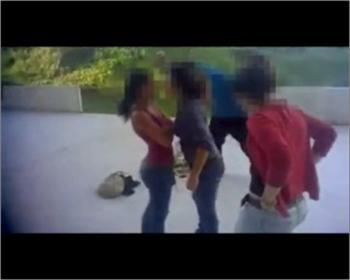 Uma das imagens do vídeo polémico ontem divulgado