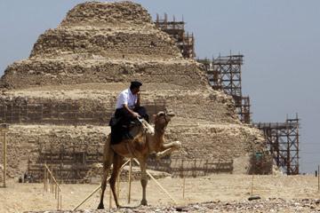 As autoridades egípcias pretendem utilizar esta tecnologia para proteger o seu património
