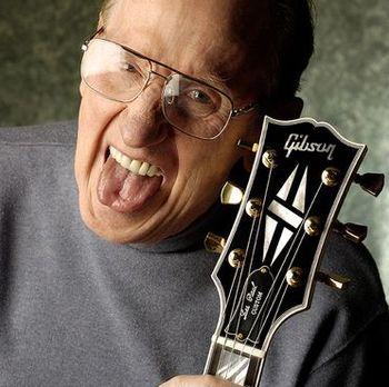 Les Paul criou a famosa guitarra Gibson