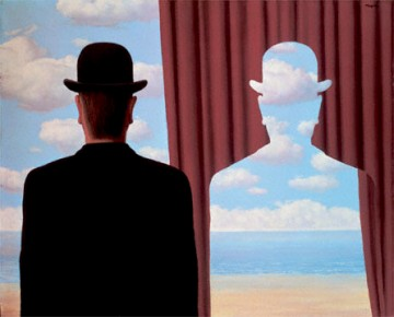 Decalcomania, de Magritte