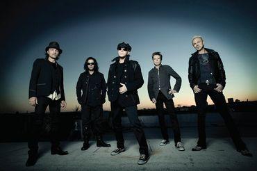 Os Scorpions têm concerto marcado para o dia 31 de Julho