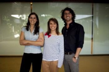 Cristina Silva Bastos, Sandra Ramos e Francisco Pereira Gomes