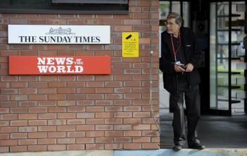 O caso do jornal domina a actualidade britânica