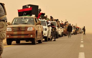 Os rebeldes continuam distantes de Trípoli
