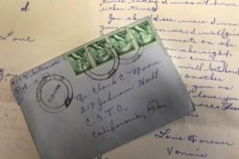 A carta foi entregue nos correios a 20 de Fevereiro de 1958