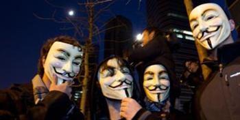 O grupo Anonymous é uma organização internacional de ciber-activistas, associados sem qualquer espécie de liderança concreta