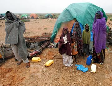 A seca na Somália
