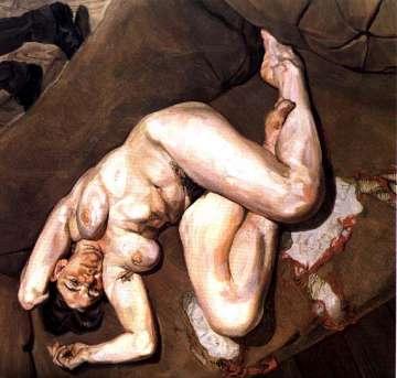 """""""Retrato nu com reflexão"""", de Lucian Freud, foi vendido em 1998 por 4,6 milhões de dólares"""