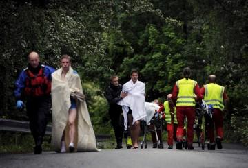 Só na ilha morreram 84 pessoas