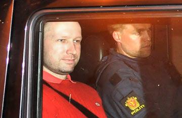 Anders Behring Breivik, terrorista da Noruega