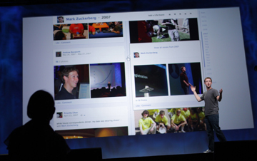 Mark Zuckerberg apresentou em São Francisco as novidades muito antecipadas do Facebook