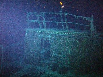 """O """"SS Mantola """", afundado por alemães em 1917, está a mais de 1,6 quilómetros de profundidade"""