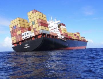 O cargueiro estava em rota de Napier a Tauranga