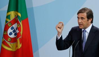 <p>Passos Coelho já defendeu uma revisão do acordo com a <i>troika</i></p>