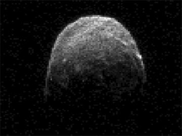 O asteróide a 1,38 milhões de quilómetros da Terra