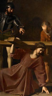 """""""Christ portant la croix"""". de Nicolas Tournier, esteve desaparecido quase 200 anos"""