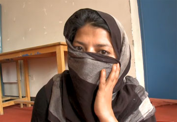 Afegã violada e obrigada a casar com o violador