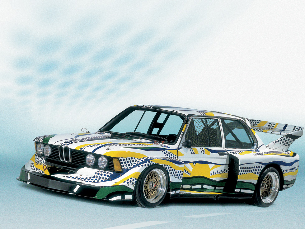 BMW 320i - Roy Lichtenstein (1977)