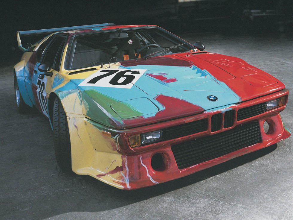 BMW M1 - Andy Warhol (1979)