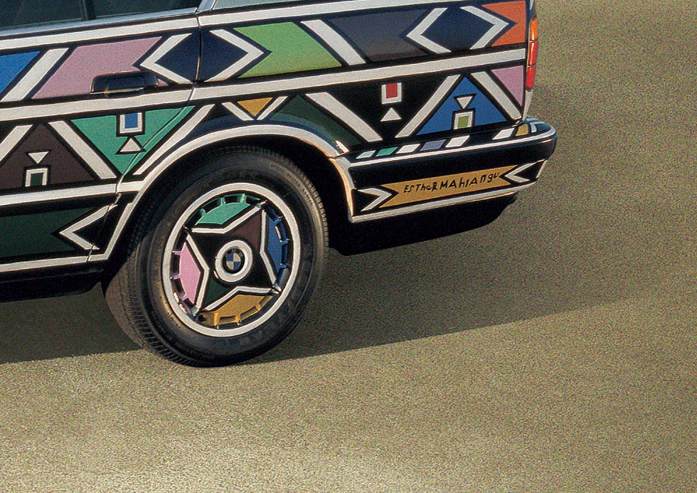 BMW 525i - Esther Mahlangu (1991)