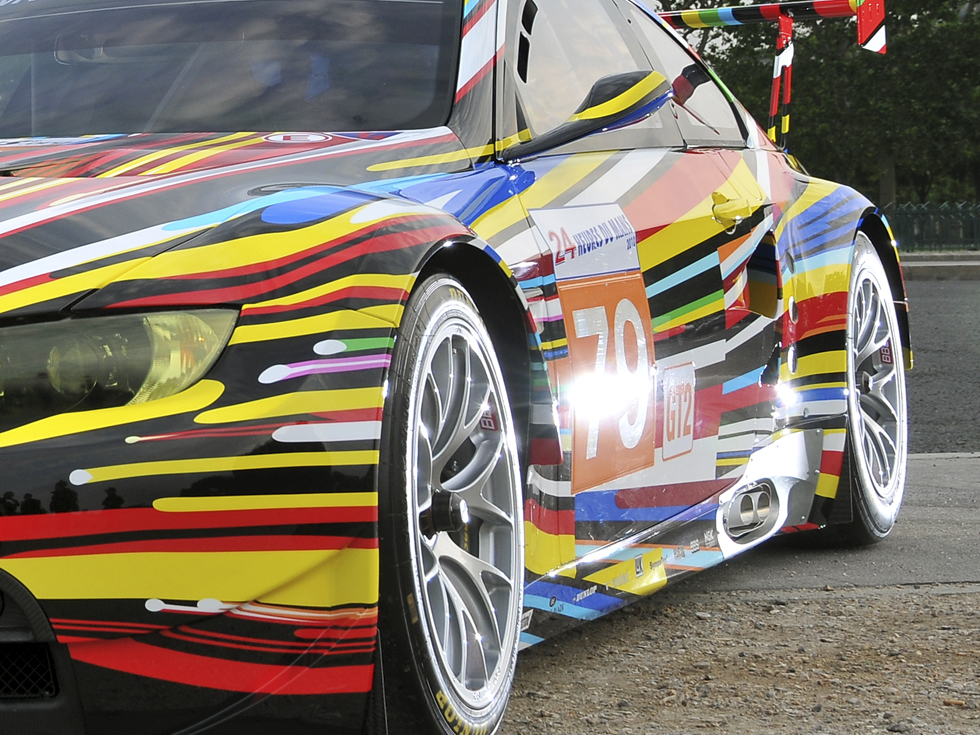 BMW M3 GT2 - Jeff Koons (2010)