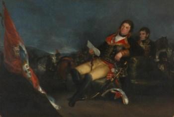 Godoy, pintado por Goya, está na origem deste episódio bélico