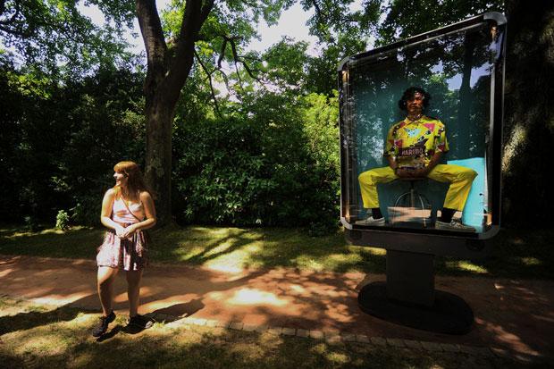 "Teatro de rua ""Tout va bien"" da companhia Kumulus (5  de Junho de 2010)"