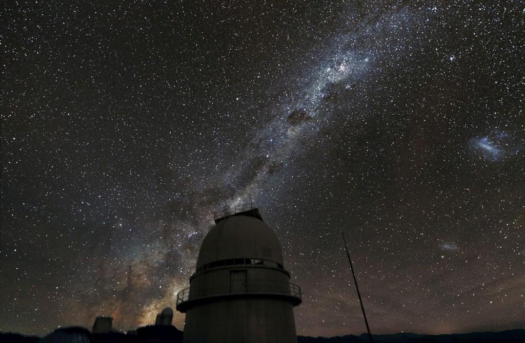 A Via Láctea vista a partir da Terra