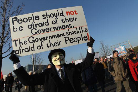Iniciativa dos Anonymous é resposta à acção do FBI sobre o MegaUpload