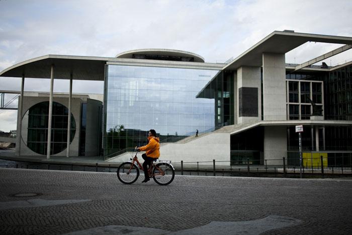 De bicicleta pela Chancelaria