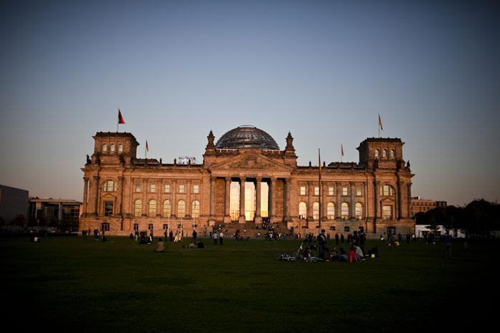 Reichstag  à noite