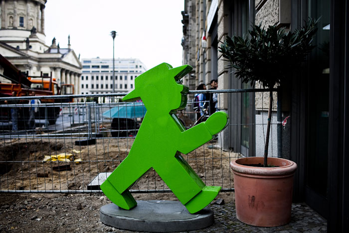 Ampelmann - o homenzinho do semáforo recriado